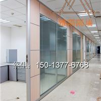 深圳办公室专用双玻百叶隔断可加电动百叶帘