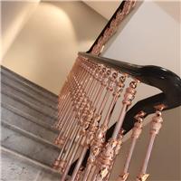 铜艺护栏铝艺护栏楼梯扶手