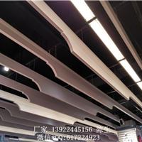 供应木纹铝型材隔断材料弧形方通吊顶