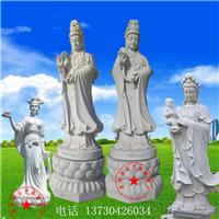石观音汉白玉菩萨 石材雕塑厂工艺品