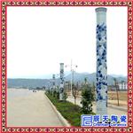 路边照明瓷灯柱 定做1-6米瓷灯柱