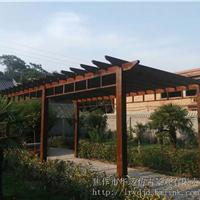 焦作防腐木廊架,葡萄架,庭院景观设计安装