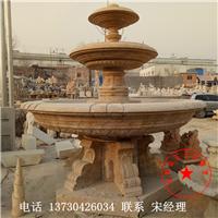 庭院喷泉 曲阳县石艺林雕塑厂专做石材喷泉