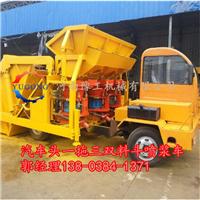 九江市一拖三双料斗混凝土喷浆车生产厂家