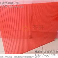 3.8mm雨棚pc阳光板中空板采光板防紫外线,全国招商,定做,批发