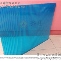 pc阳光板透明4mm-10mm雨篷采光板双层中空板,全国招商,质保5年