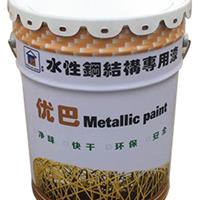 东莞厂家直销水性金属防锈漆中灰面漆/钢结构漆/厂房漆