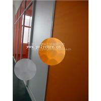 艾思乐防水防霉重量轻强度阻燃高透明pc蜂窝复合板用于卫生间门