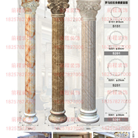 前程科技纳米石材,石塑线条仿大理石罗马柱/方圆柱,装饰线条厂家