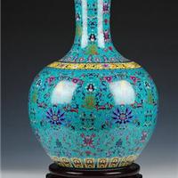 精美陶瓷定制花瓶  厂家价格  居家办公室摆设