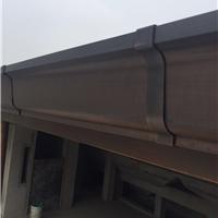 金属成品天沟铜天沟雨水管下水链封檐板定制天沟