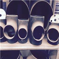 现货供应 各种规格无缝弯头 国标碳钢三通 耐腐蚀 抗高压