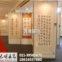 上海八棱柱展板出租、书画展板租赁免费搭建