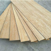 家旗木业松木曲面板原板