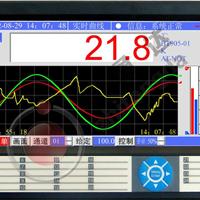 BT1000_2000平板式触摸屏调节记录仪