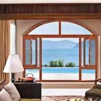 108系列断桥铝窗纱一体平开窗博俊门窗型材供应
