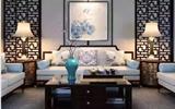 9个沙发背景墙装修效果图大全, 演绎新中式的别样雅致-3d背景墙