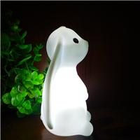2017新款创意礼品卡通兔子led小夜灯定制 发光儿童装饰玩具灯批发