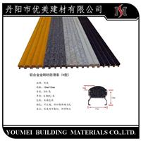 南京楼梯铝合金金刚砂防滑条止滑条构造