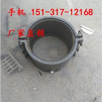 伊利铸铁承口哈夫节产品说明 大同PE连接三通补漏器压力