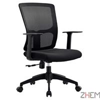现代简约 舒适可旋转可升降中班会议椅
