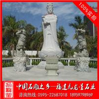 石雕妈祖像订做 圣母石雕 石雕湄洲妈祖神像