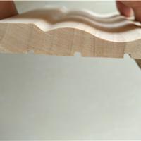 缅甸-橡胶木门套线,8分 实木装饰板线,报价