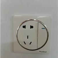 经销墙壁开关插座,电线,PVC管,PPR管