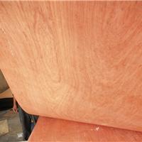 装饰面板贴面板实木饰面板桃花芯 E0级5mm