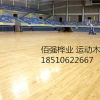 佰强体育室内篮球场木地板 羽毛球场木地板