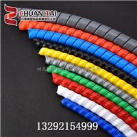 30-32mmHDPE螺旋缠绕管电线保护套 拉链 包线管 电线收纳套管