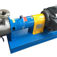 高剪切乳化 管线式乳化泵 小型高剪切乳化泵