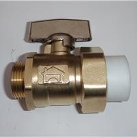 PPR球阀-分水器热熔活接球阀