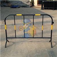 铁马护栏 施工隔离栏 常规黄黑铁马 不锈钢