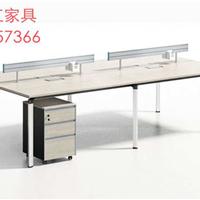 简约现代职员办公桌厂家直供员工屏风办公桌