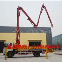 山东星铭24米小型泵车  混凝土臂架泵车