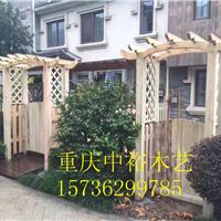 重庆户外防腐木栏杆景区栏杆制作安装厂家