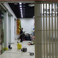 西安豪华PVC折叠门水晶卷帘门工位折叠门