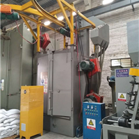 发动机钢板表面处理喷砂机 旧电机马达除锈氧化皮处理Q376抛丸机