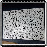 铝型装修材料铝单板雕花铝单板镂空特色单板栅格幕墙材料