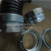 薄壁钢管连接卡套式接头 金属软管三柱顶丝接头4寸