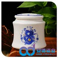 大号陶瓷茶叶罐,陶瓷药罐,陶瓷米罐,陶瓷枣罐