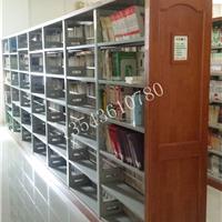 顺德图书馆书架订做批发厂家免费送货安装钢木书架