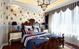 欧式小卧室装修效果图 小空间也能装出大花样-欧式壁纸卧室