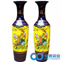 陶瓷工艺大花瓶礼品大花瓶厂家定制