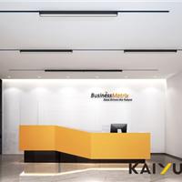 广州安正软件公司大型办公室装修设计项目