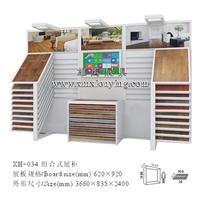 瓷砖展示架 陶瓷展架木地板展柜石材展具墙砖展架