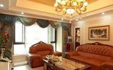 【装修案例】老婆花20万亲手打造140平纯欧式风格装修设计-欧式壁纸卧室