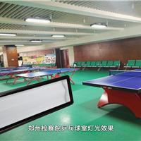 高端乒乓球会所照明设计,乒乓球馆专用灯具,乒乓球防眩灯