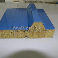 盐城业盛彩钢厂家提供150mm岩棉彩钢夹芯板